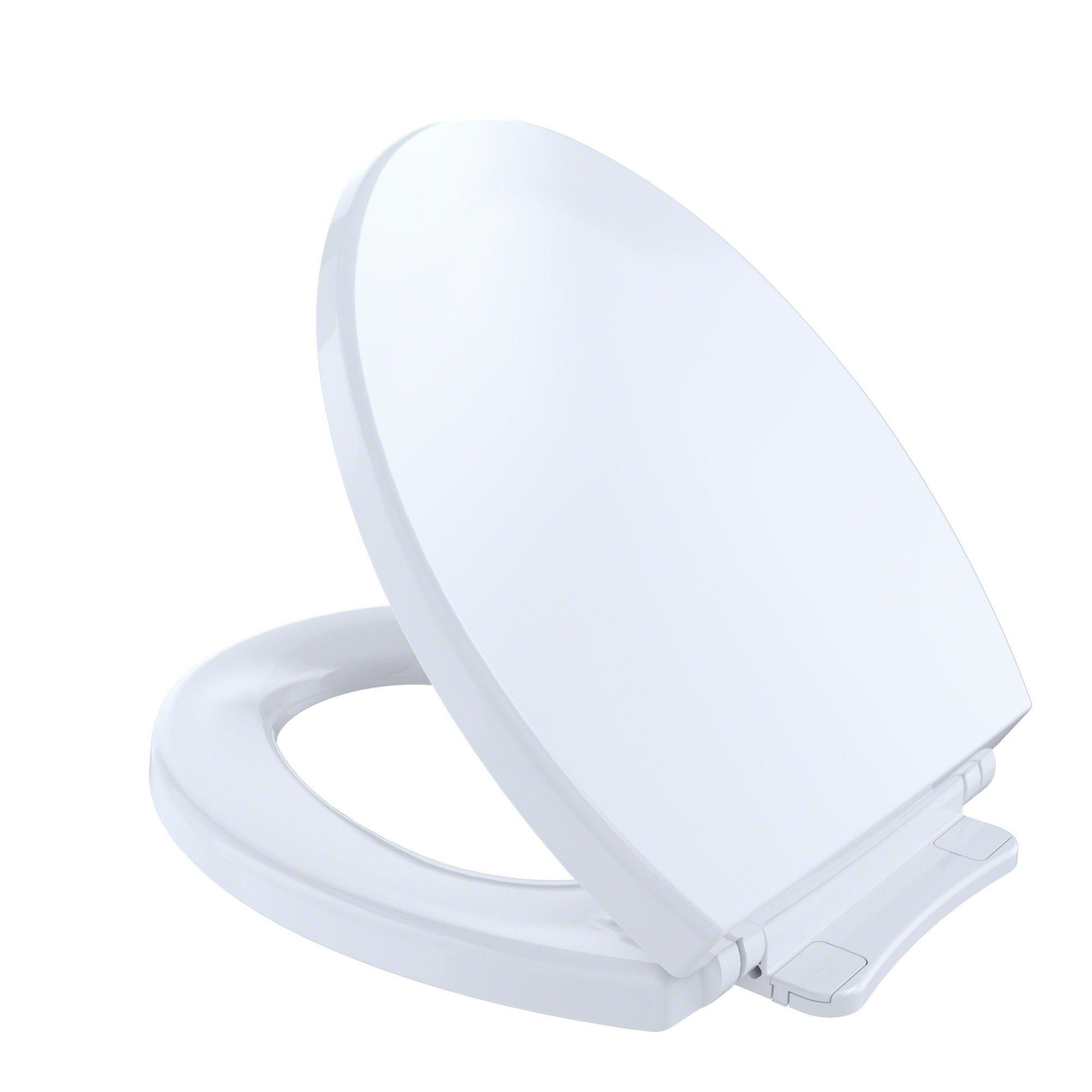 Toto Softclosenon Slamming Slow Close Round Toilet Seat And Lid Cotton White Ss113 01 Toilet Seat Plastic Hinges Toilet Design