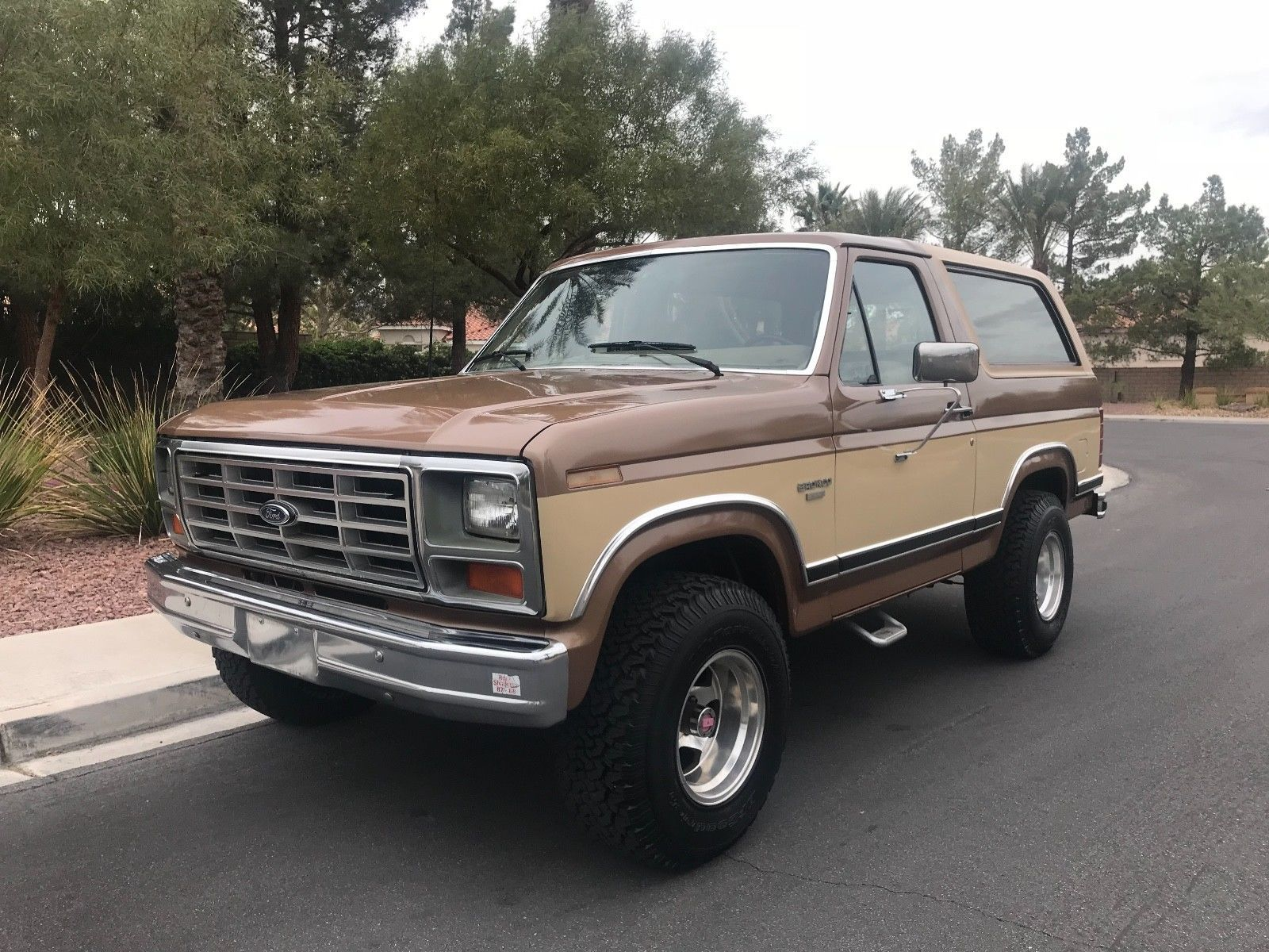 Ebay 1985 ford bronco xlt 1985 classic ford bronco 4x4 with low miles all original west coast truck classiccars cars