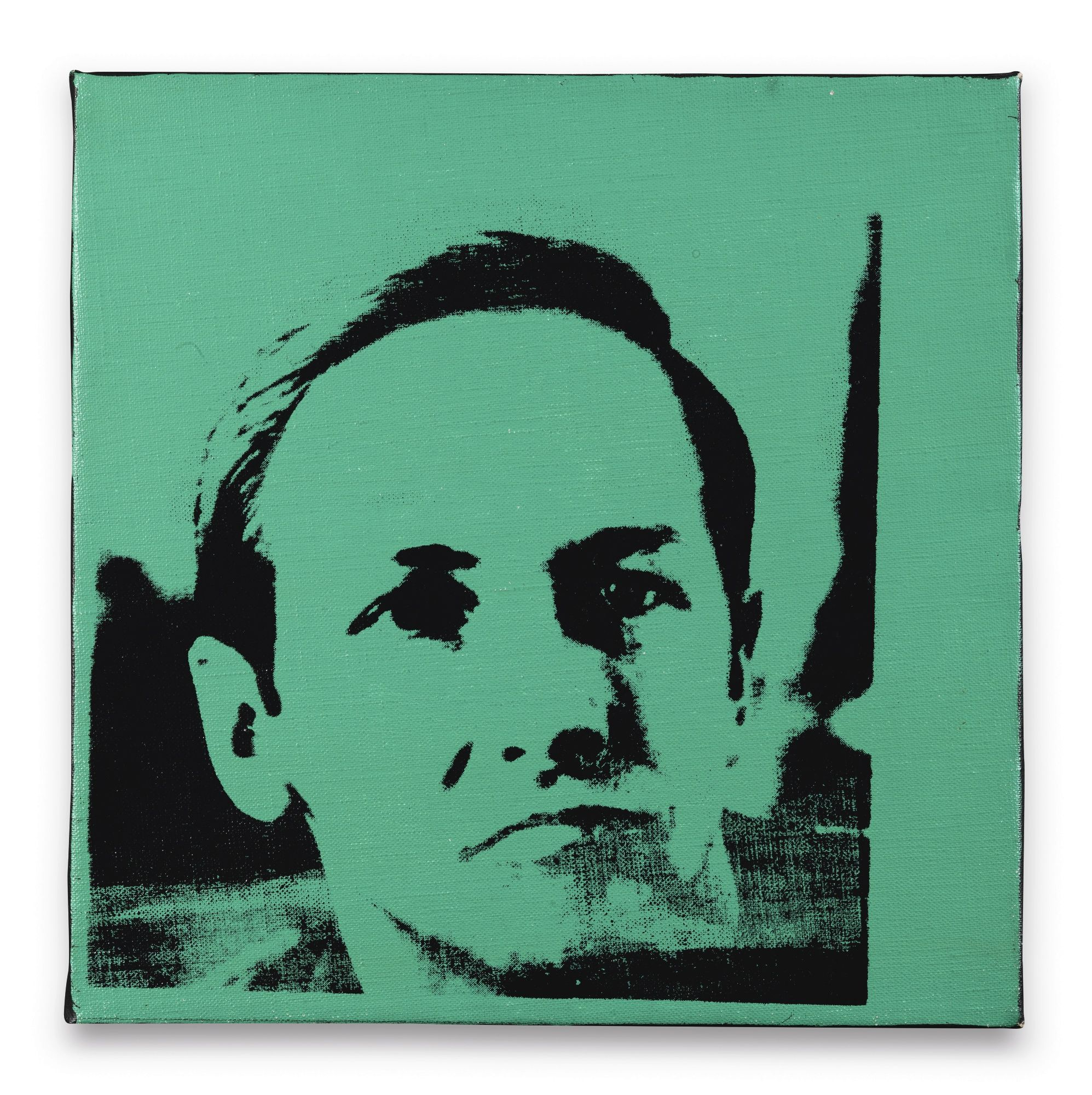 Andy Warhol 1928 - 1987 ROBERT RAUSCHENBERG signed and dated 67 ...