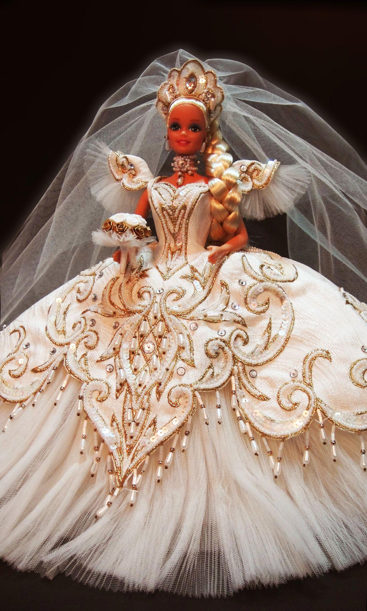 Empress Bride Barbie by Bob Mackie