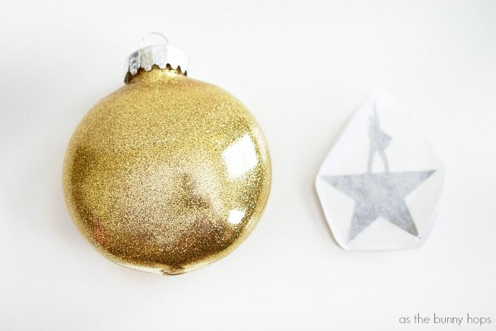 Hamilton Christmas Ornament.Make And Easy Glittery And Fun Diy Hamilton Christmas