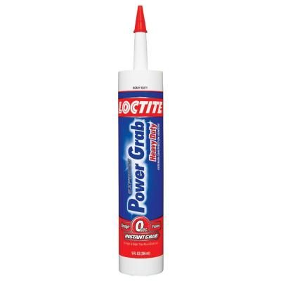 Loctite 9 Fl Oz Power Grab Express Heavy Duty Construction Adhesive 12 Pack 2032666 The Home Depot Construction Adhesive Adhesive Nails And Screws
