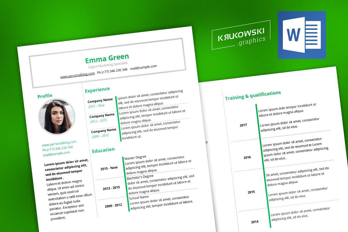 Clear Company Flyer Template in 2020 Resume cv, Resume