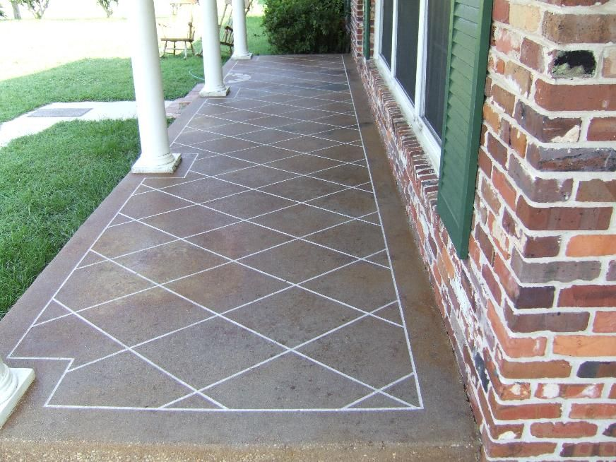 Exceptional Southern Concrete Designs LLC   Photo Gallery 1   Such An Elegant Look With  Kemikou0027s Cola And Black Acid Stain On This 35 Year Old Concrete.