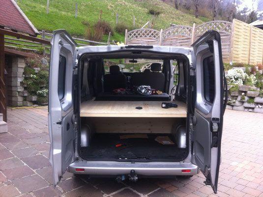 umbau opel vivaro zum campingbus g nstig einfach camping. Black Bedroom Furniture Sets. Home Design Ideas