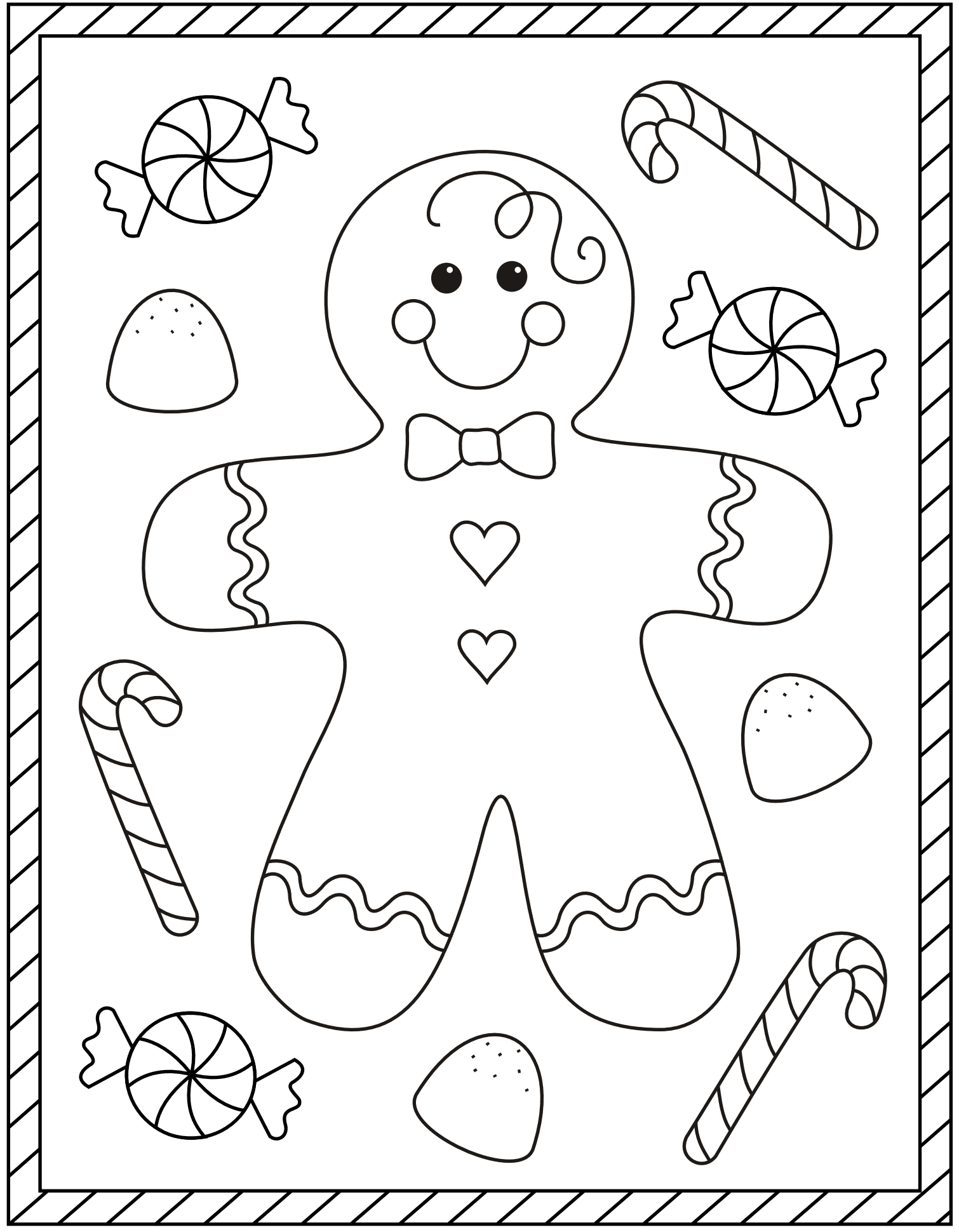 Printable Christmas Colouring Pages With Images