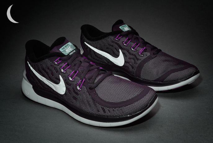 Nike Womens Free 5 0 Flash Noble Purple Reflect Silver Vivid Purple Nike Women Nike Women Shoes