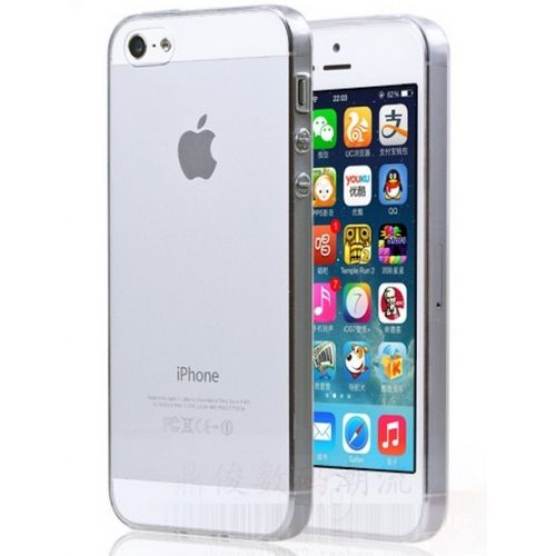iPhone 5/5s Translucent Protective Mobile Phone Case