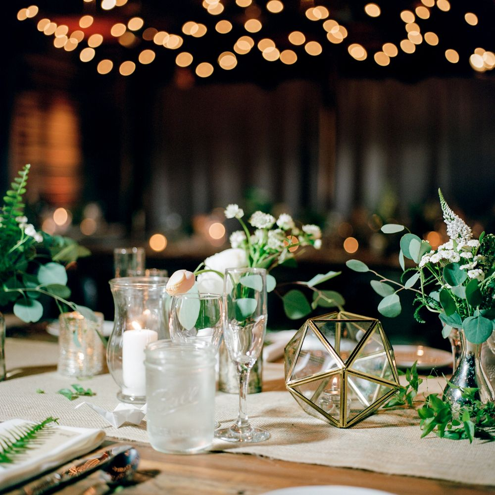 Botanical Inspired Quaker Ceremony And Reception At