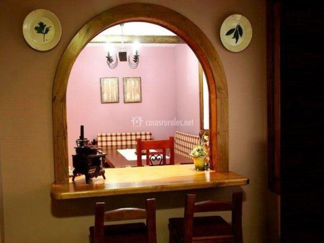 Arcos de madera para cocinas google search barras y - Maderas para arcos ...