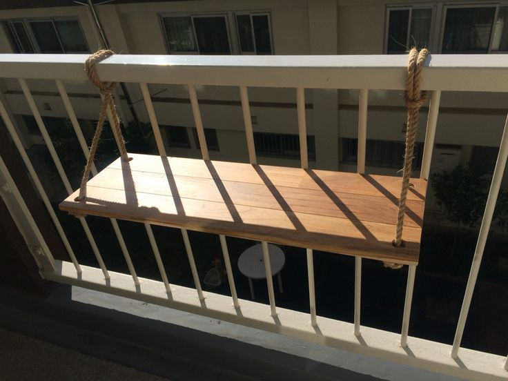 Balkontisch. DIY-ed. - bilge kolcu #smallbalconyfurniture