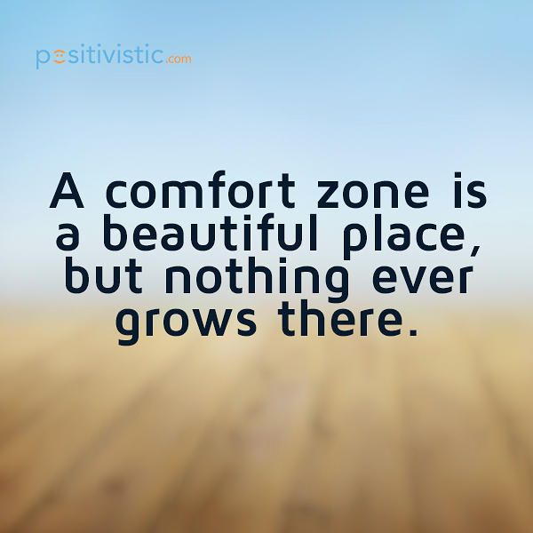 Comfort Zones And Growth Zones Quote Google Search Quotes