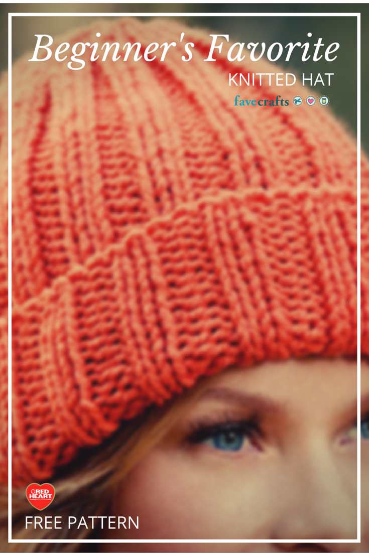 Beginners favorite knitted hat knit hats knitting patterns and beginners favorite knitted hat bankloansurffo Image collections