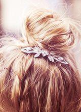 i love the hair brooch