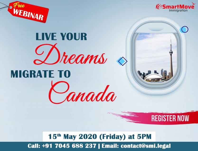 Are You Planning To Move To Canada Permanently Migrate To Canada Moving To Canada Free Webinar