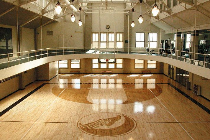 The Los Angeles Athletic Club The Story Of An L A Icon Home Basketball Court Home Gym Decor Gym Room At Home