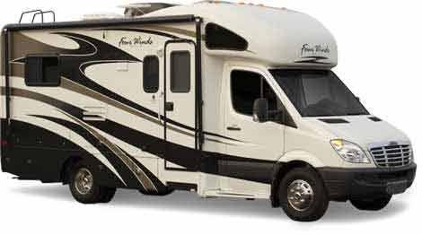 Sprinter RV MiniMotorhome By Thor Motor Coach Camping - Small motor homes