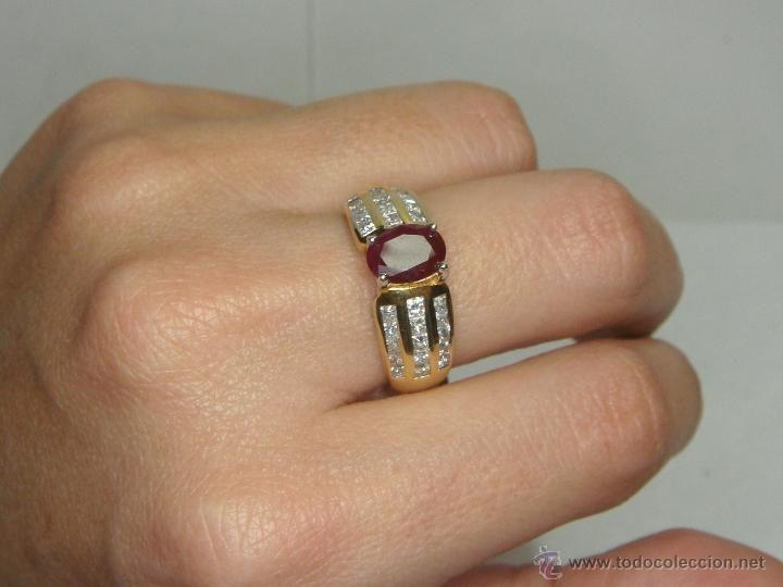 anillo oro con 5 brillantes - Buscar con Google