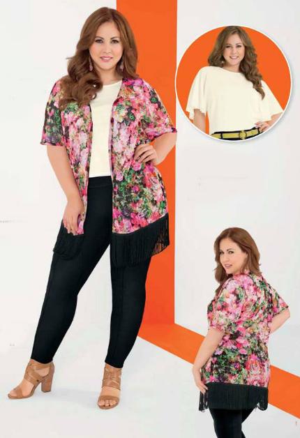 Andrea Vestir Catalogo De Ropa Para El Verano 2015 Fashion Plus Size Dress Outfits