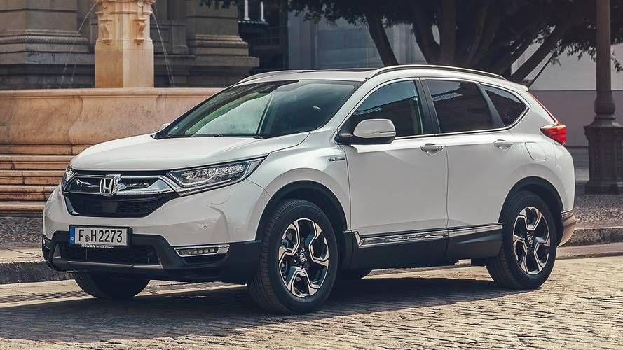 Production Ready Honda Cr V Hybrid Revealed Ahead Of Paris Debut Crossover Cars Suv Honda Honda Crv Hybrid