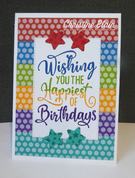 Happy Heart Cards Stampin Up Happiest Of Birthdays Bright Birthday Card Simple Birthday Cards Kids Birthday Cards Birthday Cards For Boys