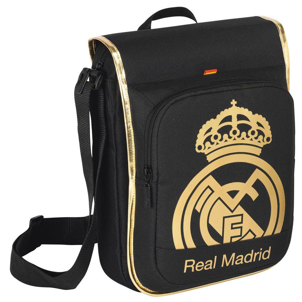 Bandolera mediana Gold Real Madrid - http://regalosoutletonline.com/regalos-originales/accesorios-temporada-nino/bandolera-mediana-gold-real-madrid