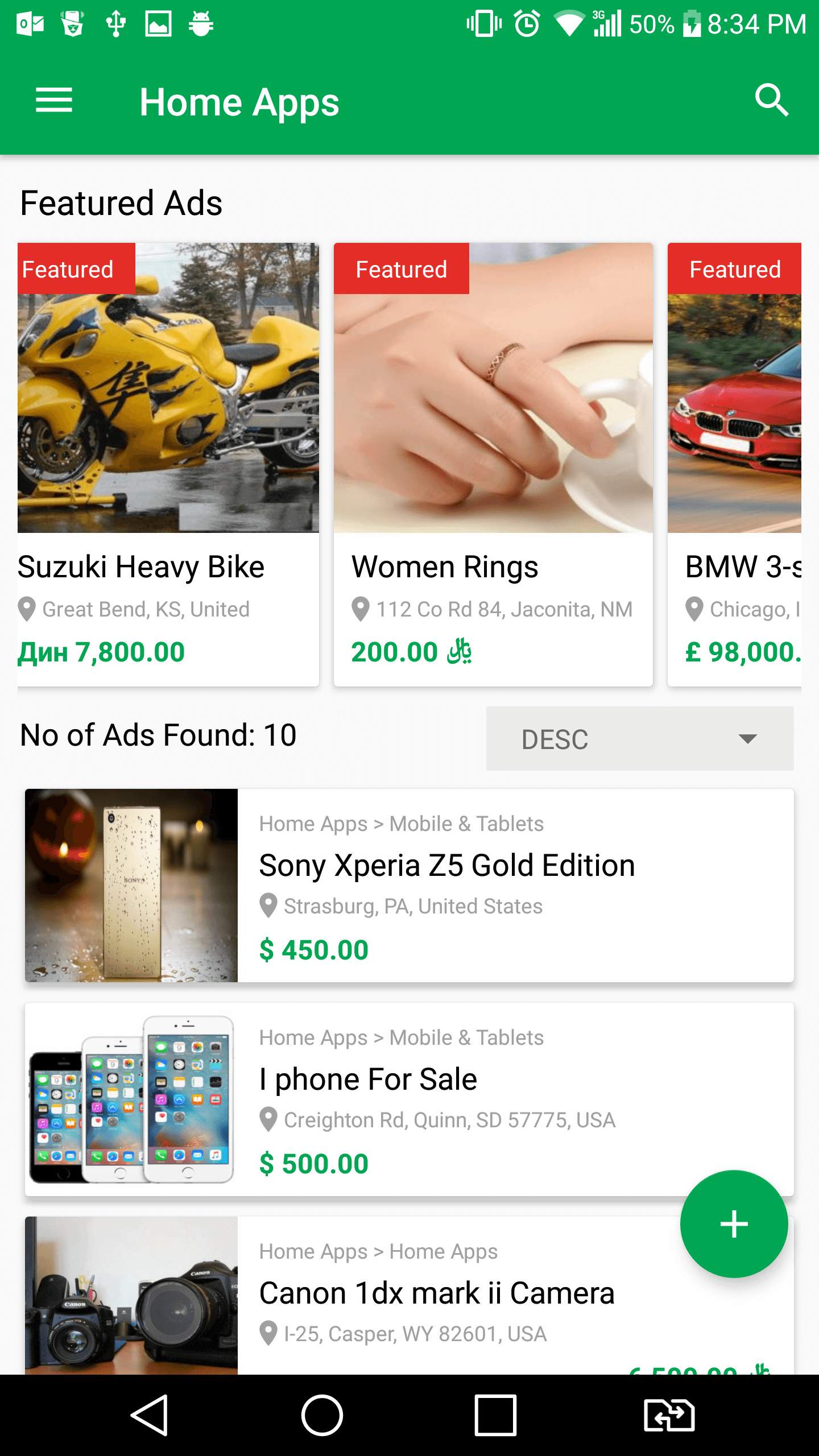Adforest best classified ads apps comes up with extra
