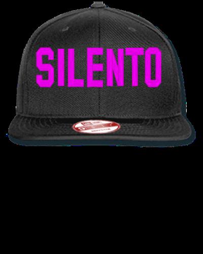 silento Embroidery - New Era Flat Bill Snapback Cap