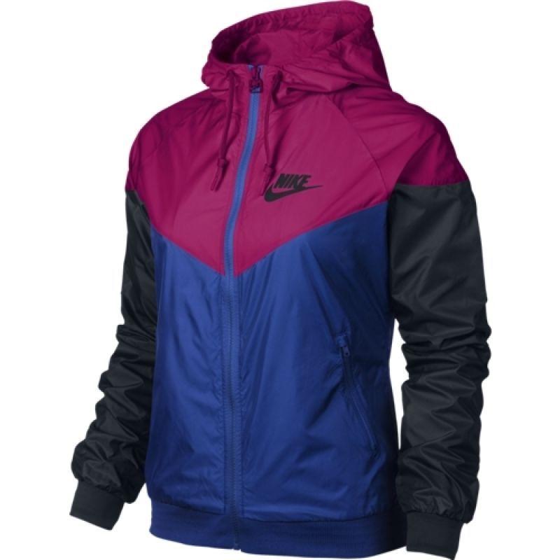Nike Windrunner Women Jacket 545909 612 Blue Fuchsia Sz S L Windbreaker Hoodie Chaqueta Deportiva Mujer Ropa Deportiva Nike Ropa Para Gimnasio