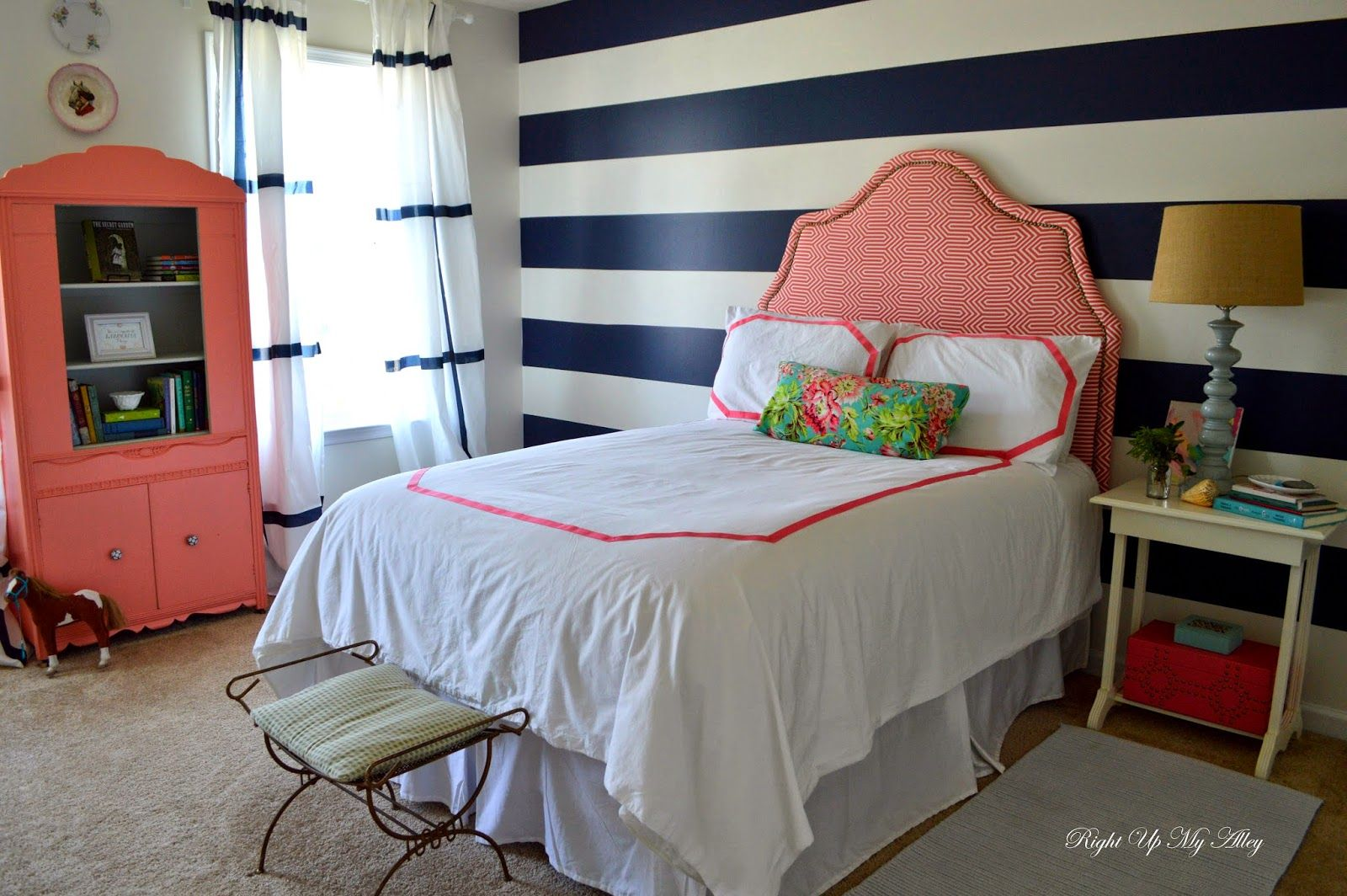 right up my alley: week 6: tween bedroom makeover reveal | tween bedroom, tween bedroom makeover