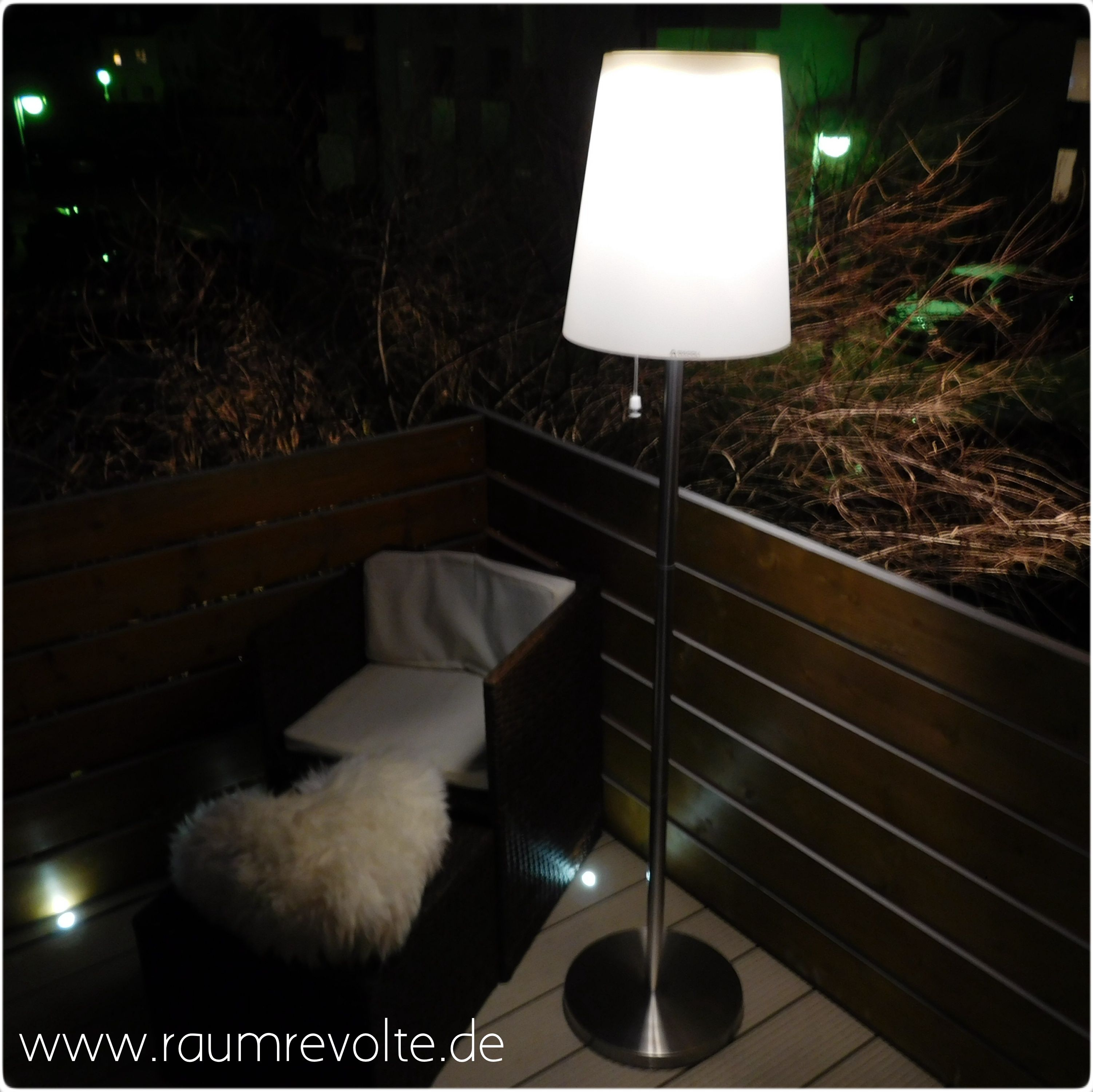 Gacoli Solar Led Bistro Leuchte Roots No 5 Warmweiss Outdoor
