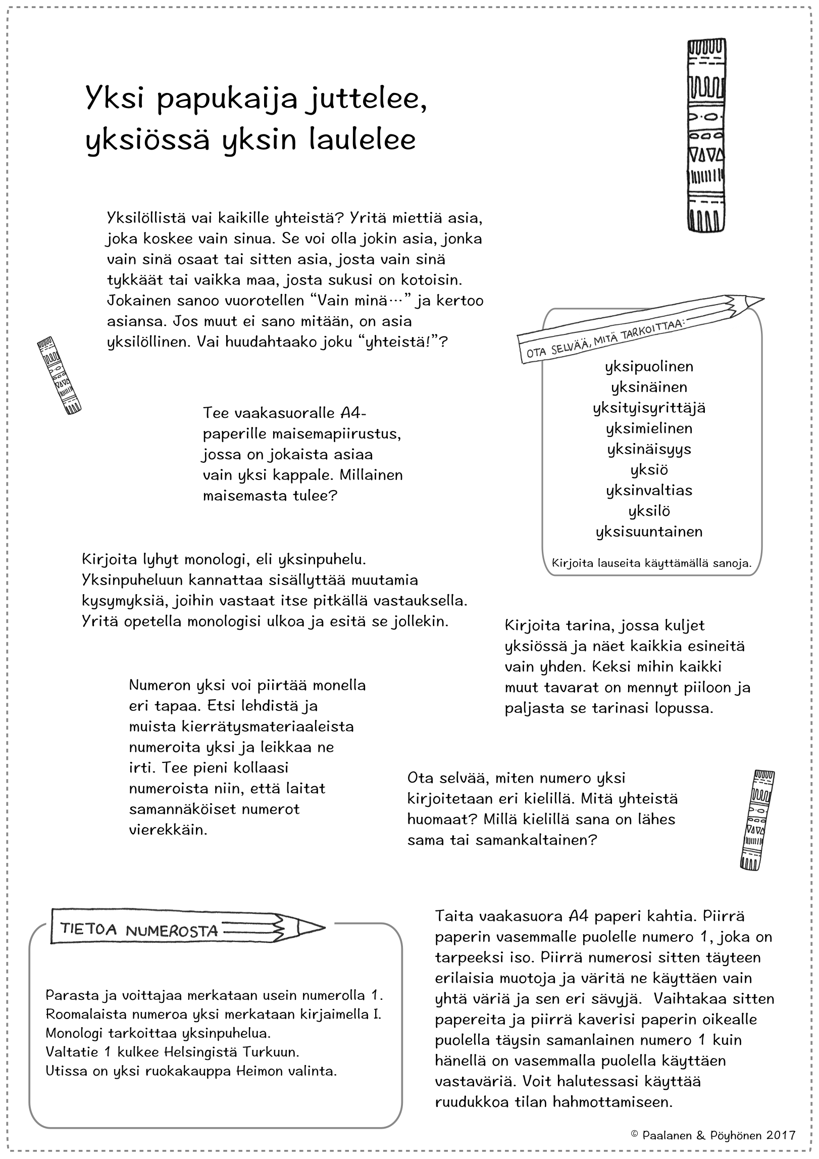 Numerotehtävät | Värinauttien numerot | Pinterest