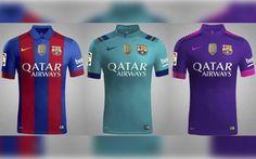 6c1c30f737ba0 Las tres camisetas del FC Barcelona para la próxima temporada ...