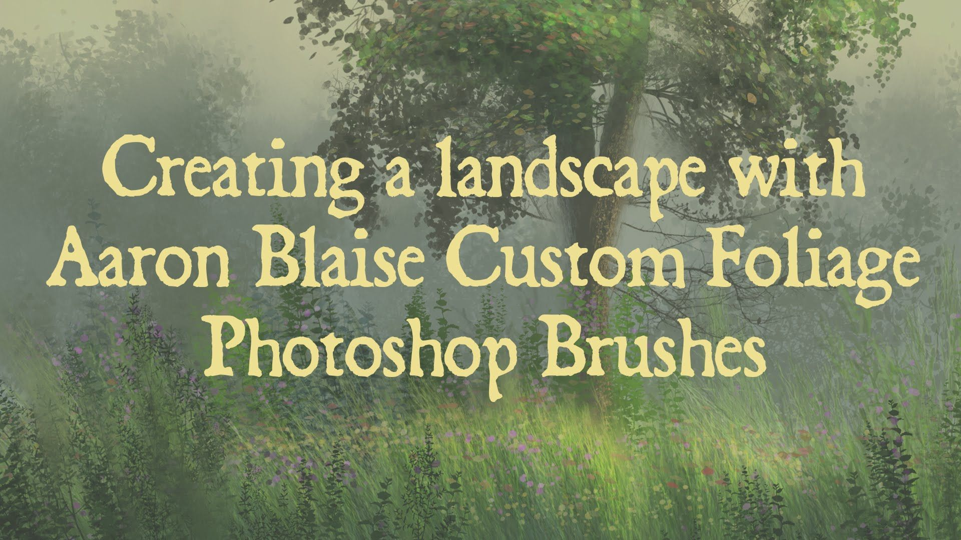 Photoshop tutorial custom foliage brushes by aaron blaise blog photoshop tutorial custom foliage brushes by aaron blaise blogwebsite baditri Image collections