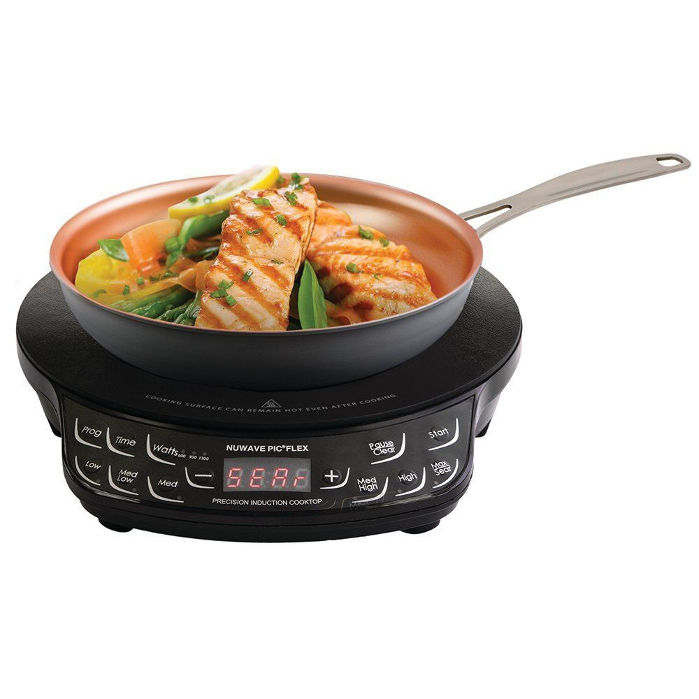 Rediscover Cooking Using The Nuwave Pic Flex Review Cooking Food Preparation Cooking Temperatures