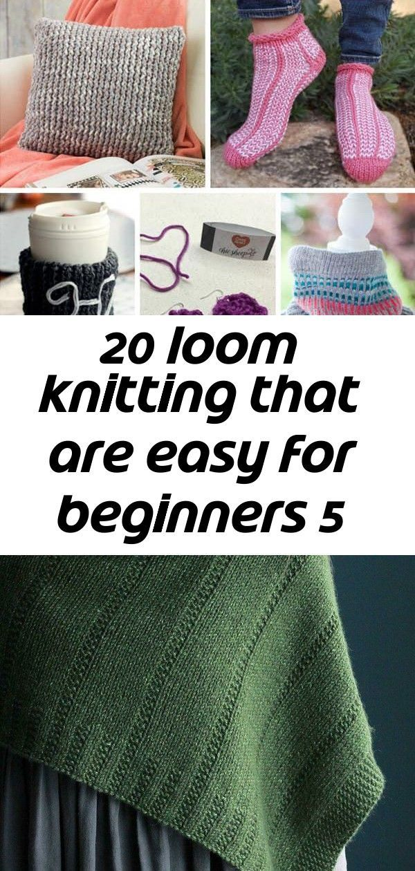 Photo of 20 loom knitting that are easy for beginners 5