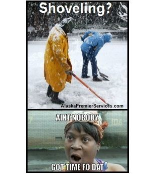Shoveling Ain T Nobody Got Time For That
