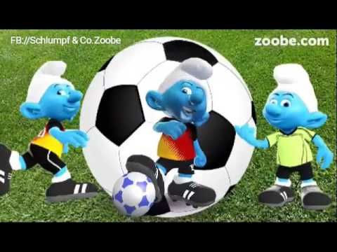 Sonne,Wochenende & Fussball ⚽ Schlumpf Videos Zoobe Schlümpfe Animatio...