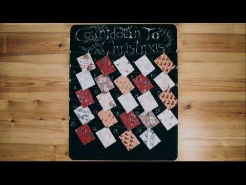 How to Make a Christmas Advent Calendar Tesco Living Christmas
