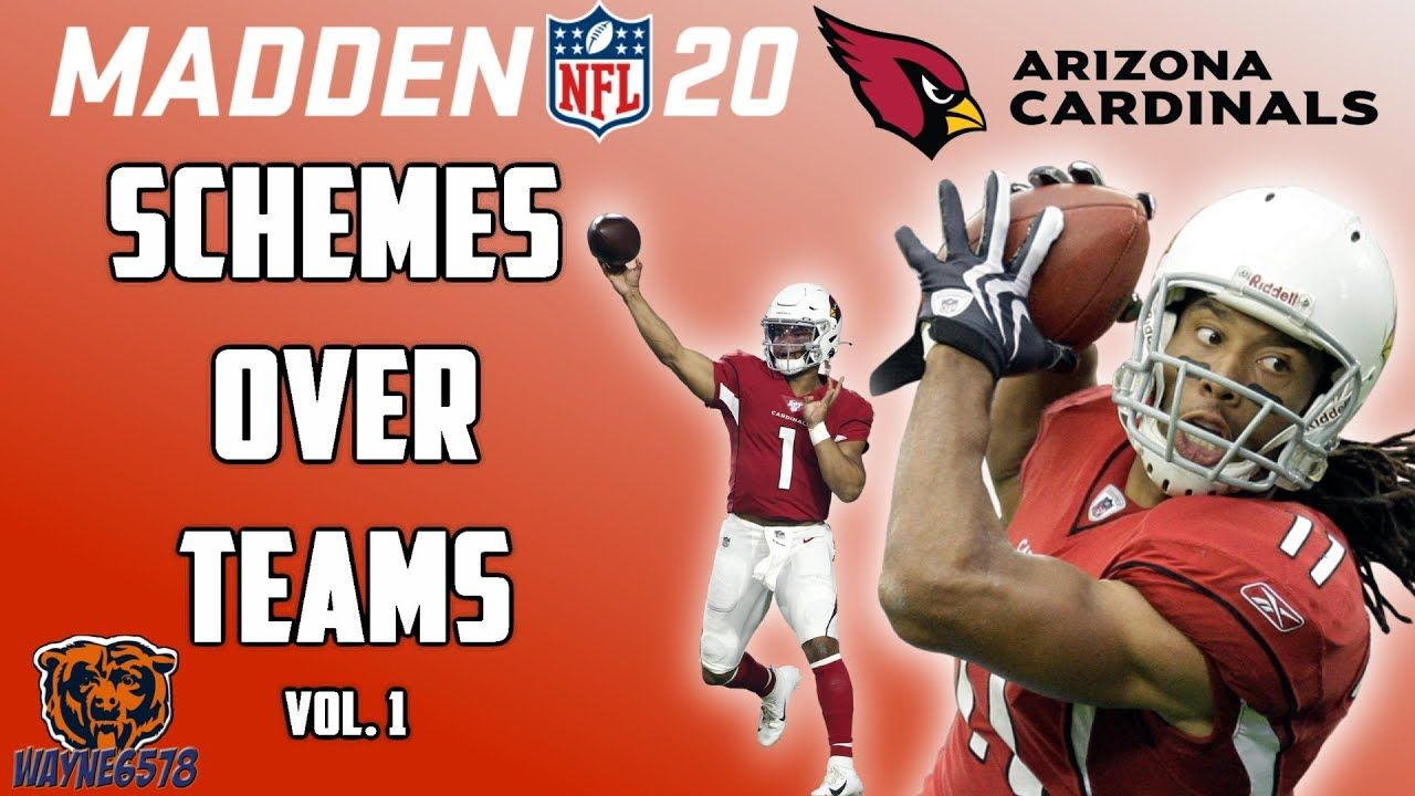 How To Win With Any Team Using Madden 20 Best Offensive Scheme Schemes In 2020 Cardinals Nfl Madden Madden Nfl
