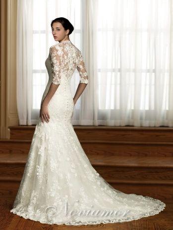 Wedding Dress Vintage Style Lace | Wedding Ideas | Pinterest ...