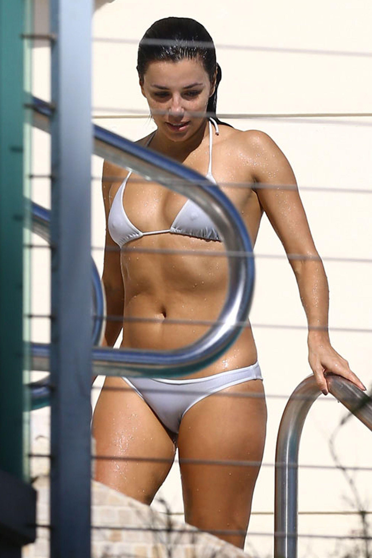 Would eva longoria itsy bitsy bikini What HAHAHAHA