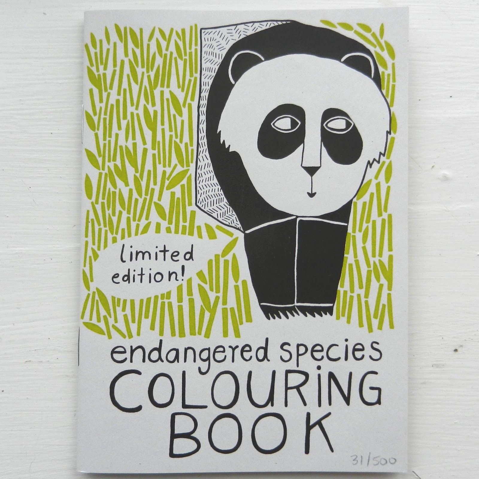 Endangered species colouring book zine covers pinterest endangered species colouring book biocorpaavc Image collections