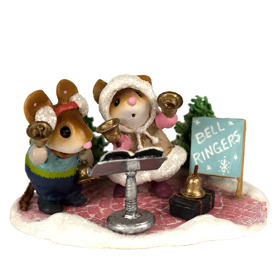 Wee Forest Folk Miniature Figurine M-512 Sharing a Story