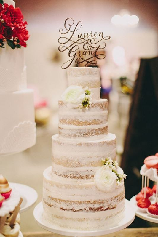 Thehottest2016weddingtrend15deliciousdirtyicedwedding - Frosted Wedding Cakes
