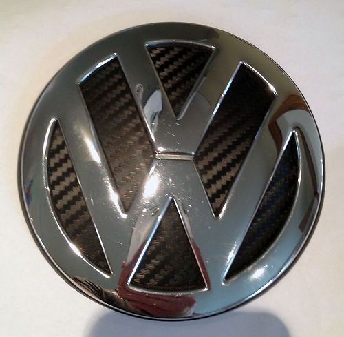 Vw Golf Mk4 Rear 3d Carbon Fibre Badge Vw Golf Mk4 Vw Golf Carbon Fiber