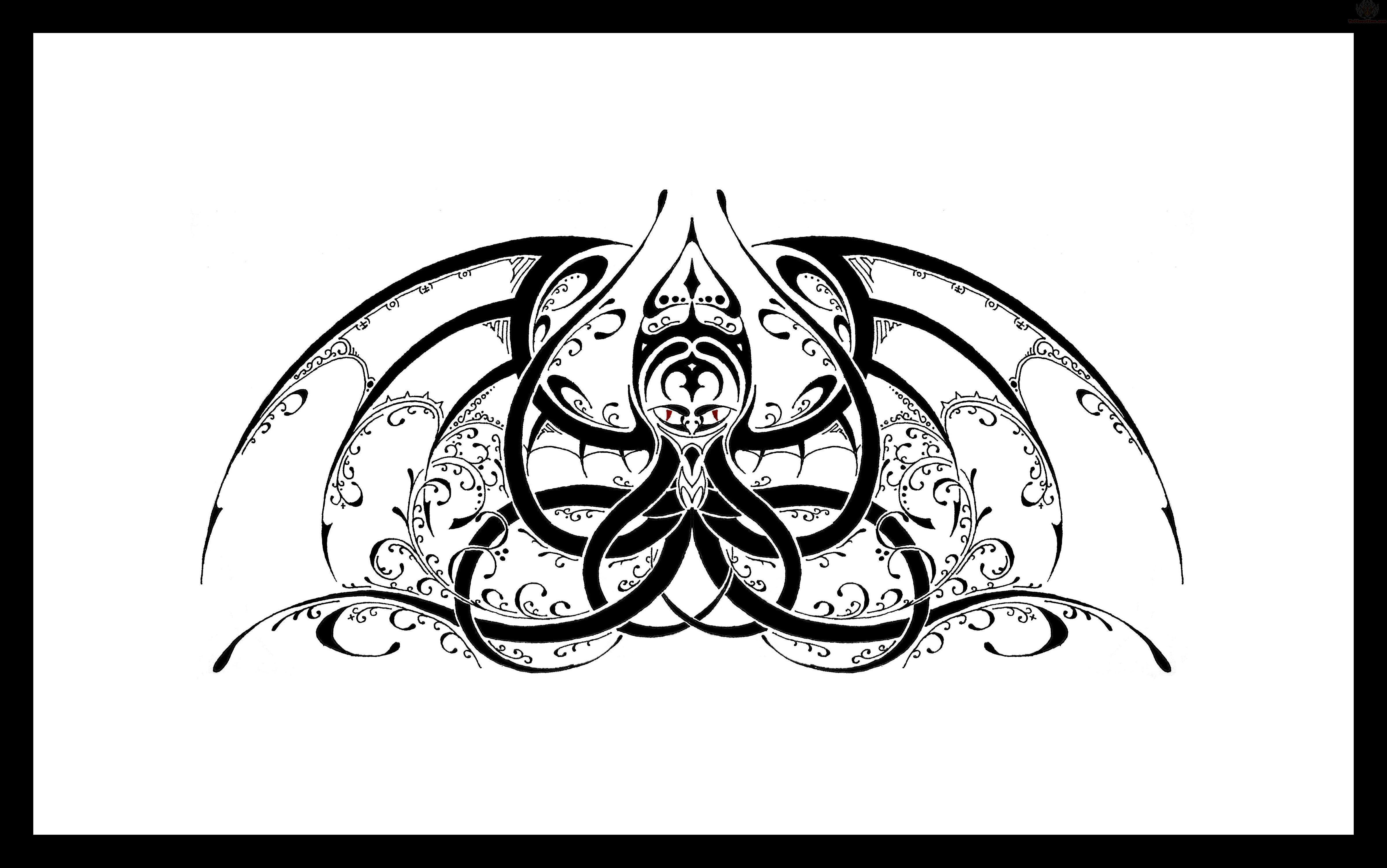 Chaos Tattoo Designs