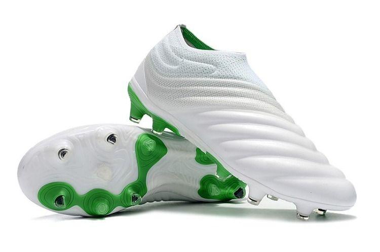 Decisión burlarse de plan de ventas  adidas Copa 19+ Botas de Fútbol con Taco FG - Blanco Verde | Botas de  futbol, Adidas, Cancha de futbol