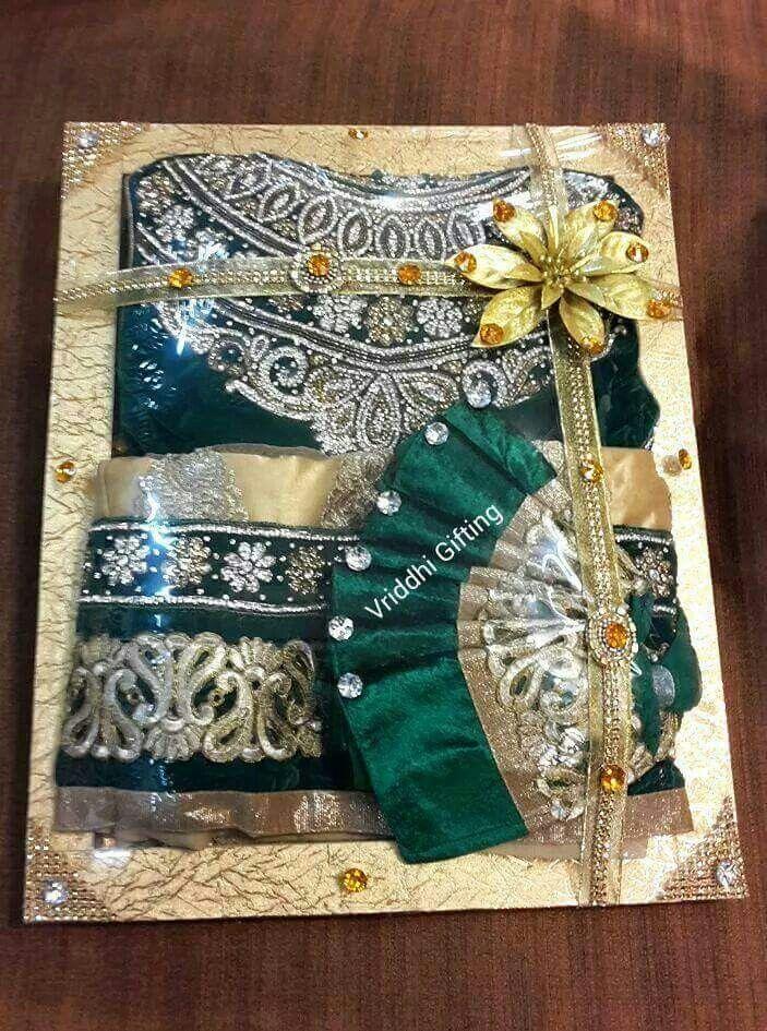 Indian Wedding Trousseau Gift Packing. Wedding gift pack