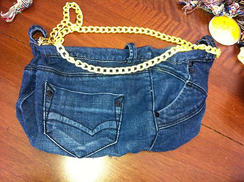 Tutorial borsa di jeans by spirina stile donna bags for Borsa jeans tutorial